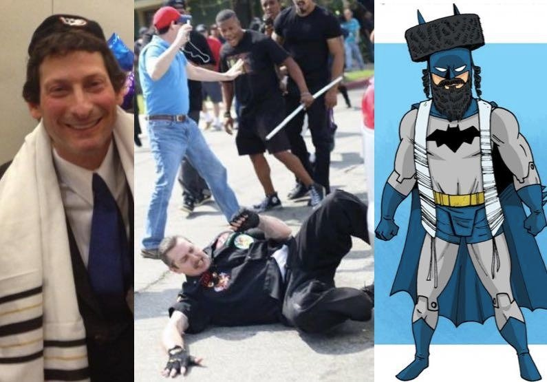 Meet The 'Jewish Batman' Who Rescued KKK Marchers From Violent Protesters