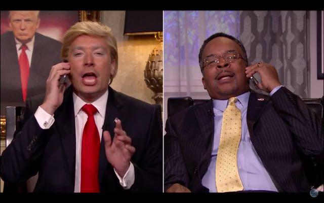 Jimmy Fallon: How Donald Trump & Ben Carson Viewed The Democrat's Debate