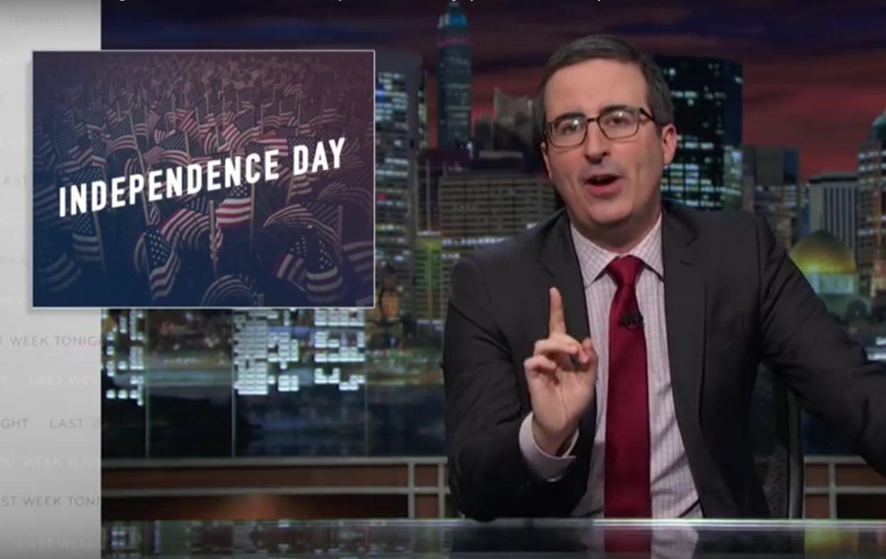 John Oliver Reminds Americans About What They've Missed By Declaring Independence From Britain