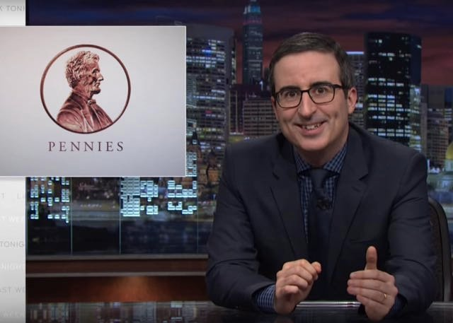 Pennies Don't Make Cents: John Oliver Explains Why The Lowly U.S. Coin Should Go