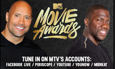 Kevin Hart & Dwayne Johnson To Host MTV Movie Awards: Fans Asked To Write & Direct Show's Promo