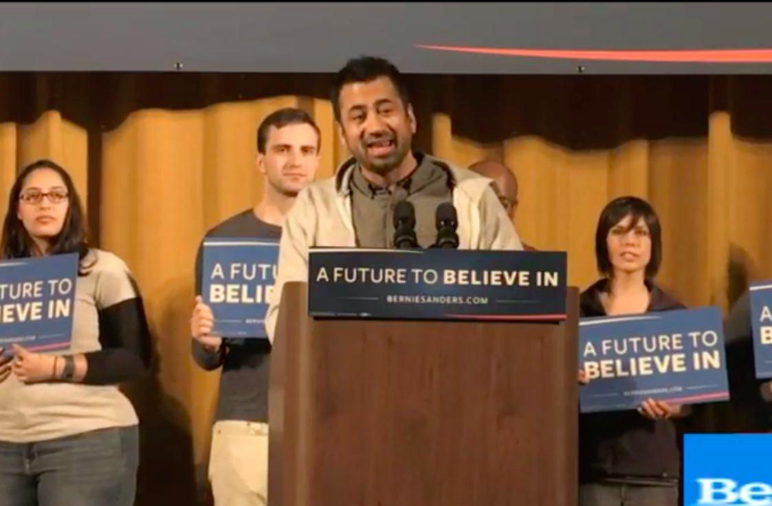 Watch: Bernie Sanders Rally with Kal Penn in Washington Heights, New York Saturday