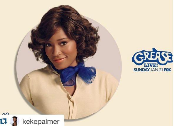 Grease Live: Keke Palmer Breaking Barriers In 2016