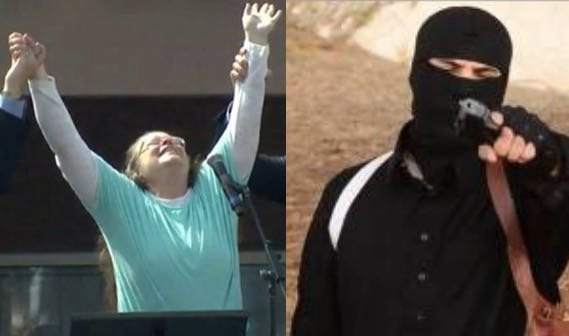 Satire Alert: ISIS Leaders Praise Kim Davis With Courage Award