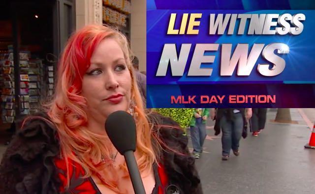 Jimmy Kimmel 'Lie Witness News': People React To MLK's Endorsement Of Donald Trump