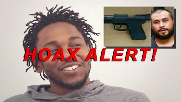 Kendrick Lamar DID NOT Secretly Purchase & Destroy Zimmerman Gun Live On Stage