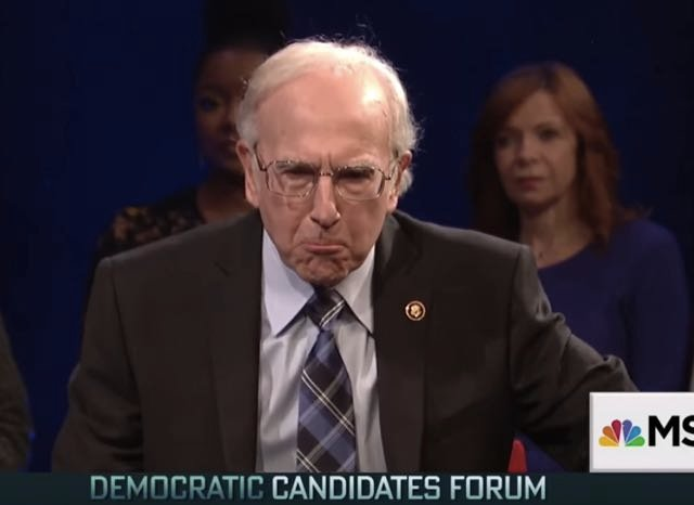 Larry David Reprises Bernie Sanders Role On SNL: Dead Ringer?