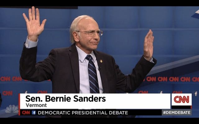 Larry David IS Bernie Sanders: A New SNL Classic