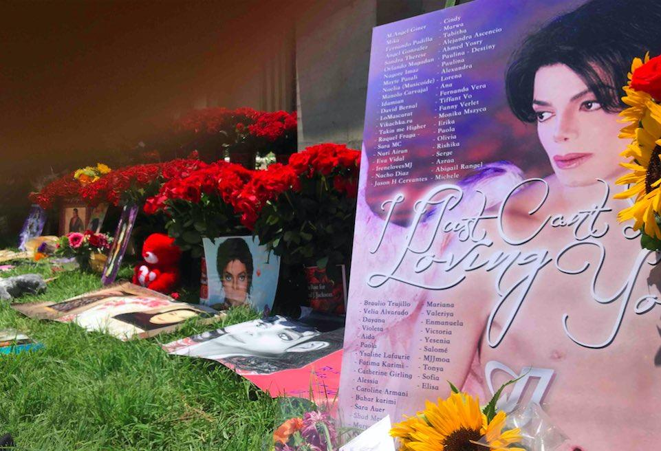 Seven Years Later: Michael Jackson Fans Gather To Remember King Of Pop