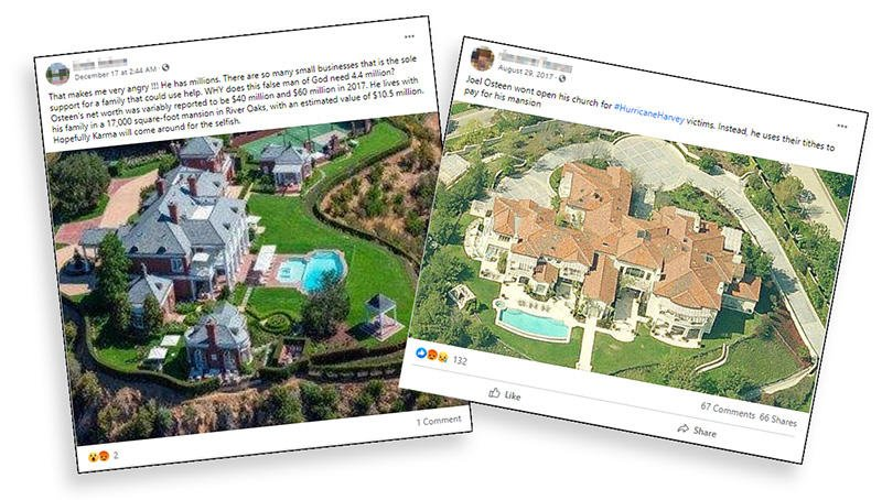 Fact Check: This Mansion Is NOT Joel Osteen's  Lead Stories