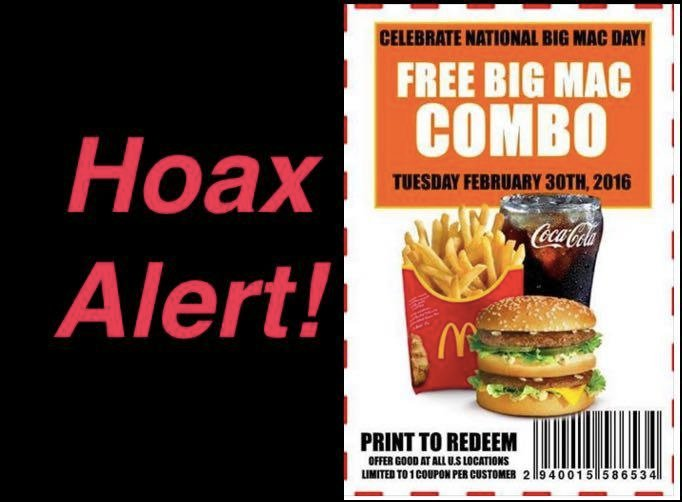 leap year food coupons