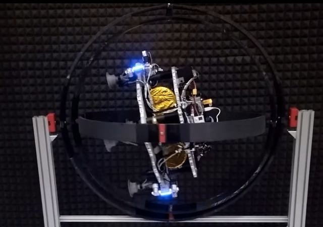 NASA's Tests Space Drones For Astroid Trips