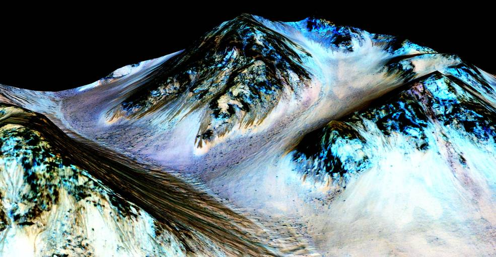 NASA: Liquid Water Flows On Mars -- Odds Of Life On Red Planet Rise
