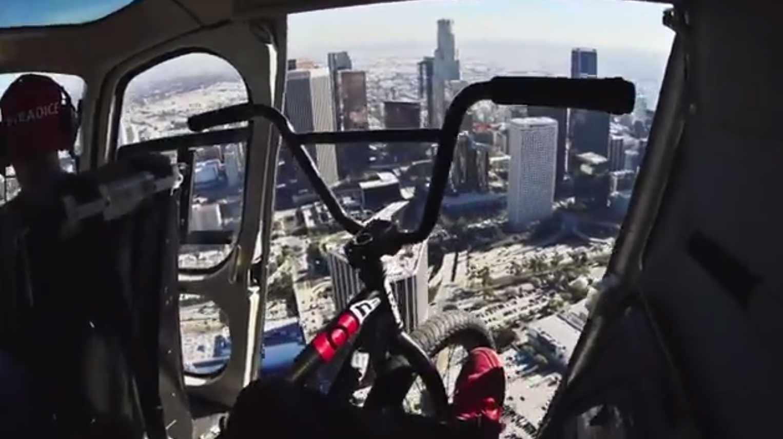 Crazy BMX Bike Ride Through Los Angeles With Nigel Sylvester