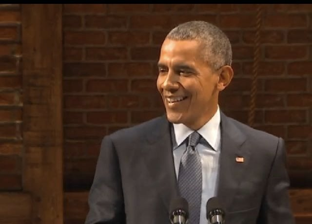 Viral Video: President Obama Gets Big Laughs Mocking GOP Candidates