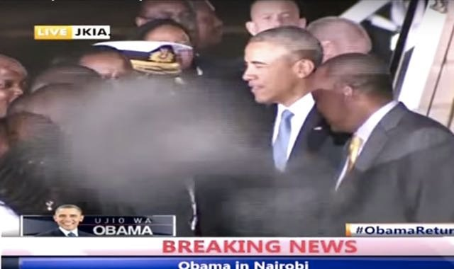 Video: Obama's Demon Encounter? Did Ghost Greet Him In Kenya?