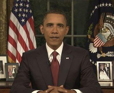 Watch Live: President Obama's Oval Office Address On Terrorism