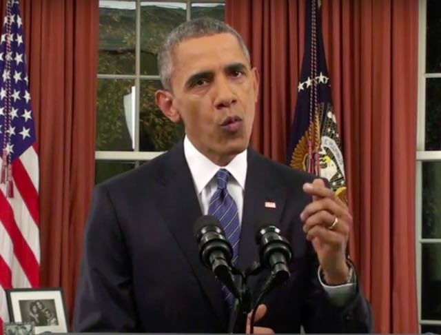 Video Replay: President Obama's Historic Oval Office Address On Terrorism