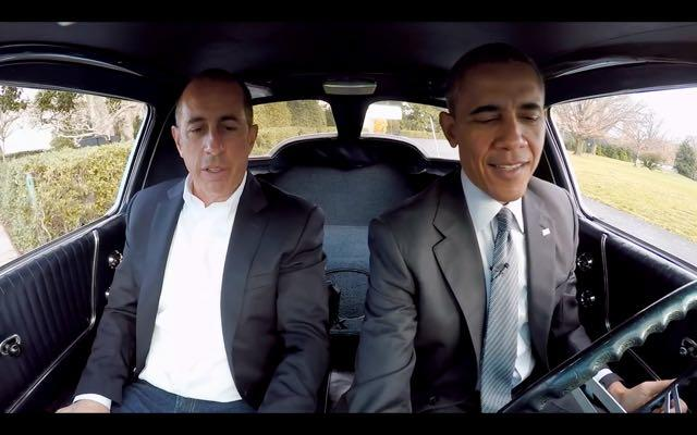President Obama Drives Corvette With Jerry Seinfeld On 'Comedians In Cars Getting Coffee'