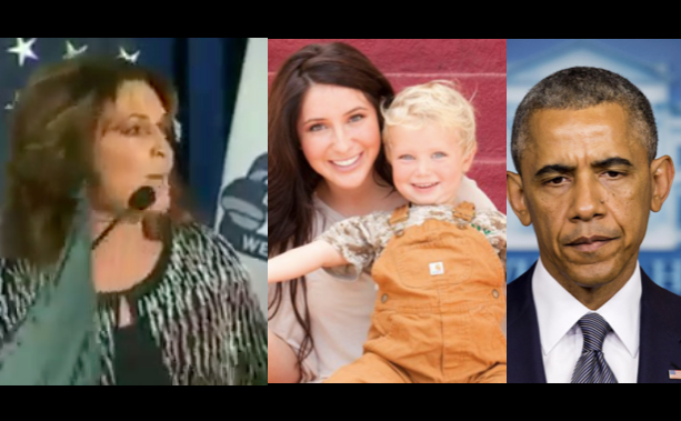 Sarah Palin did NOT Blame Obama For Daughter Bristol's Pregnancies