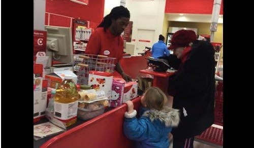 Viral Facebook Post: Target Cashier's Patience With Elderly Lady Paying With Coins