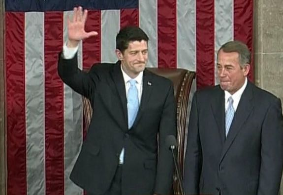 Paul Ryan Takes Thankless Job: House Elects Him Speaker