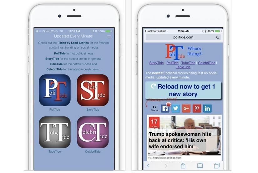 PoliTide Removes Political Bias From FaceBook: Escape The Bubble With New Mobile App