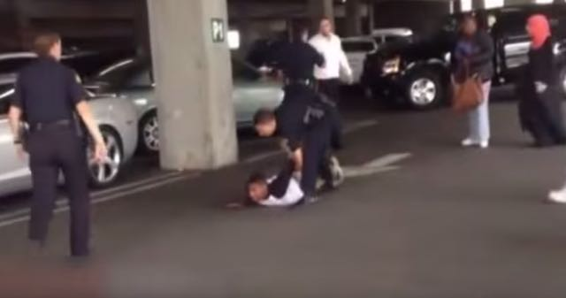 Viral Video: Two Men Fight, But Cops Only Put Black Man On Ground