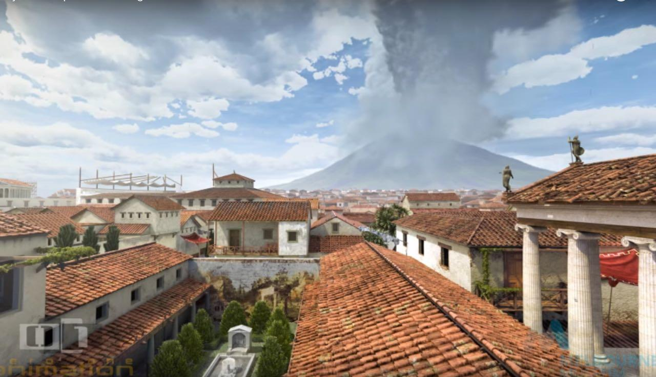 The Day Pompeii Is Lost: Animation Of The Eruption Of Mount Vesuvius