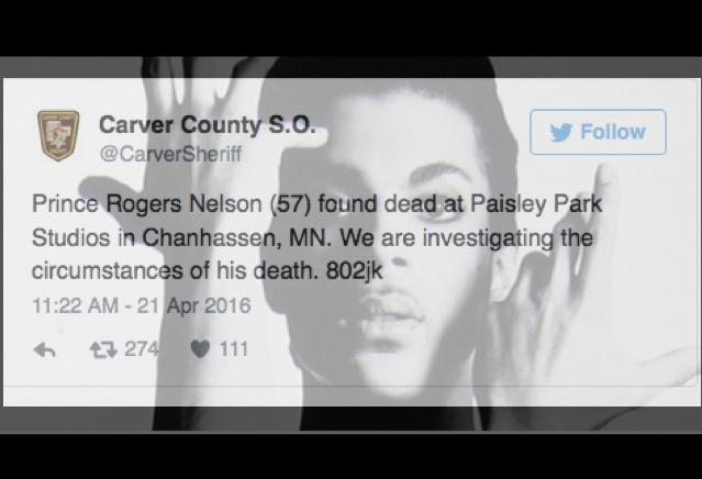 Prince Found Dead In Elevator At Paisley Park Studio; Paramedics Couldn't Save Singer