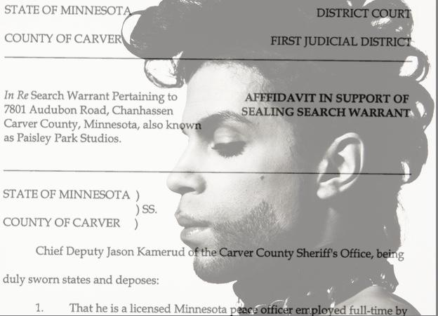 Read The Order: Judge Orders Prince Probe Search Warrant Kept Secret