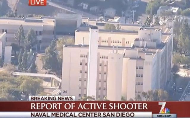 Watch Live: Active Shooter At Naval Medical Center San Diego