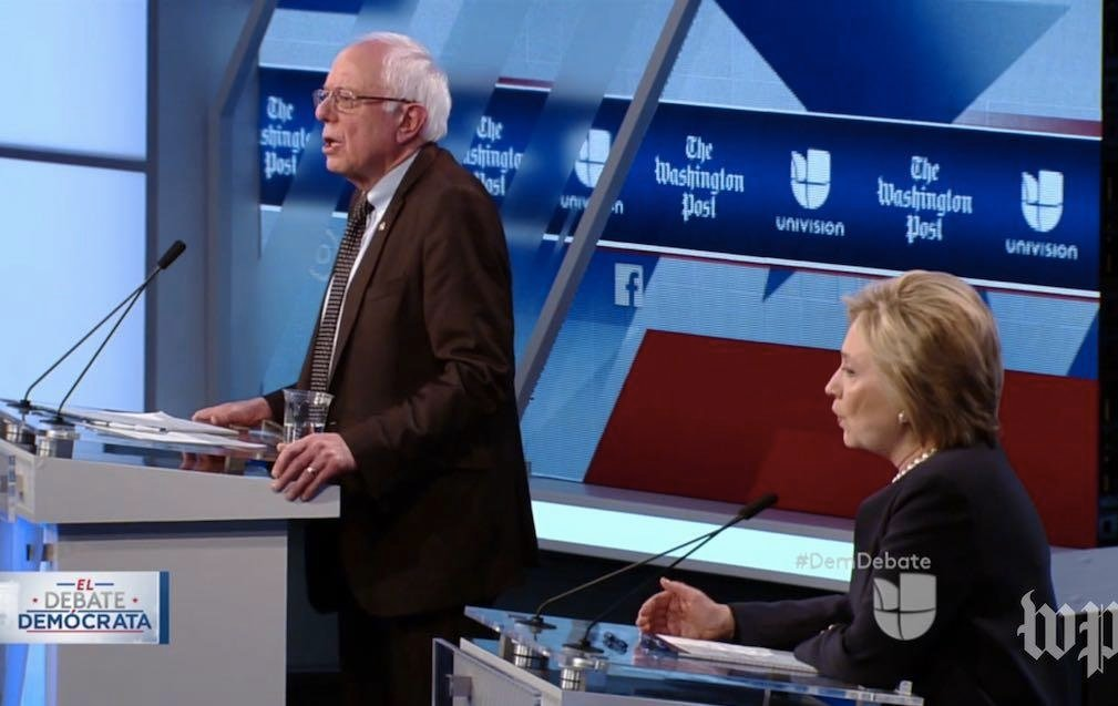 Missed Wednesday's Dem Debate? A Video Recap Of Hillary Clinton & Bernie Sanders In Miami