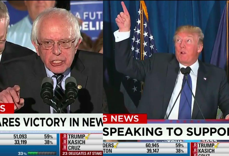 New Hampshire Primary Blog: A Good Night For Donald Trump, Bernie Sanders & John Kasich
