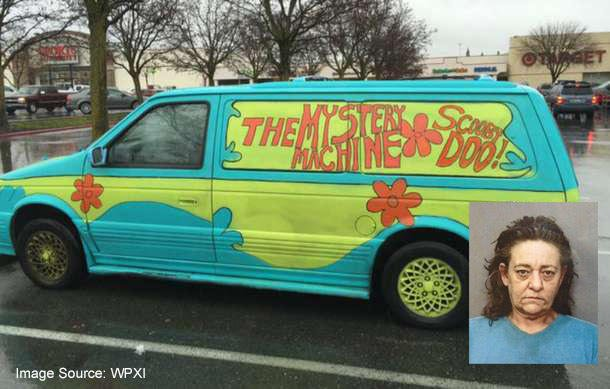 Ruh-Roh! Woman In 'Scooby-Doo' Van Leads Cops On Chase