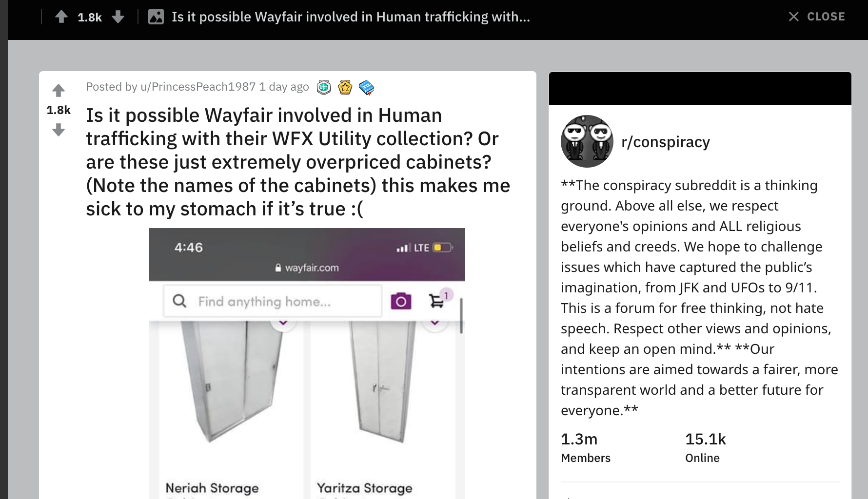 'Wayfair involved in human trafficking'; netizens react to overpriced furniture