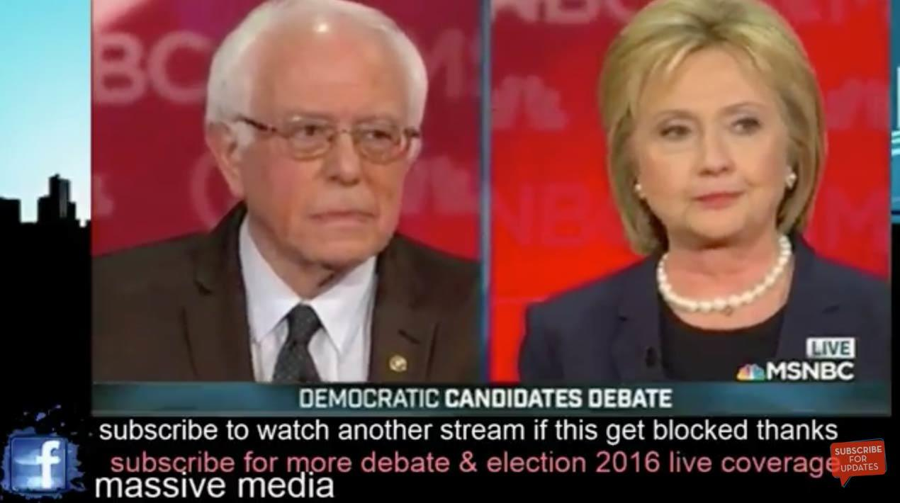 Live Stream: 5th Democratic Presidential Debate Is Underway