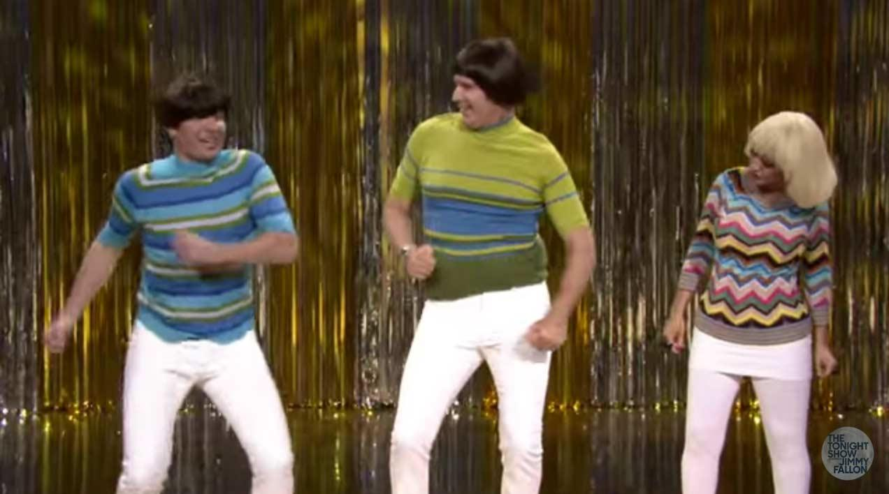 Video: Jimmy Fallon, Will Ferrell & Christina Aguilera Love Their 'Tight Pants'