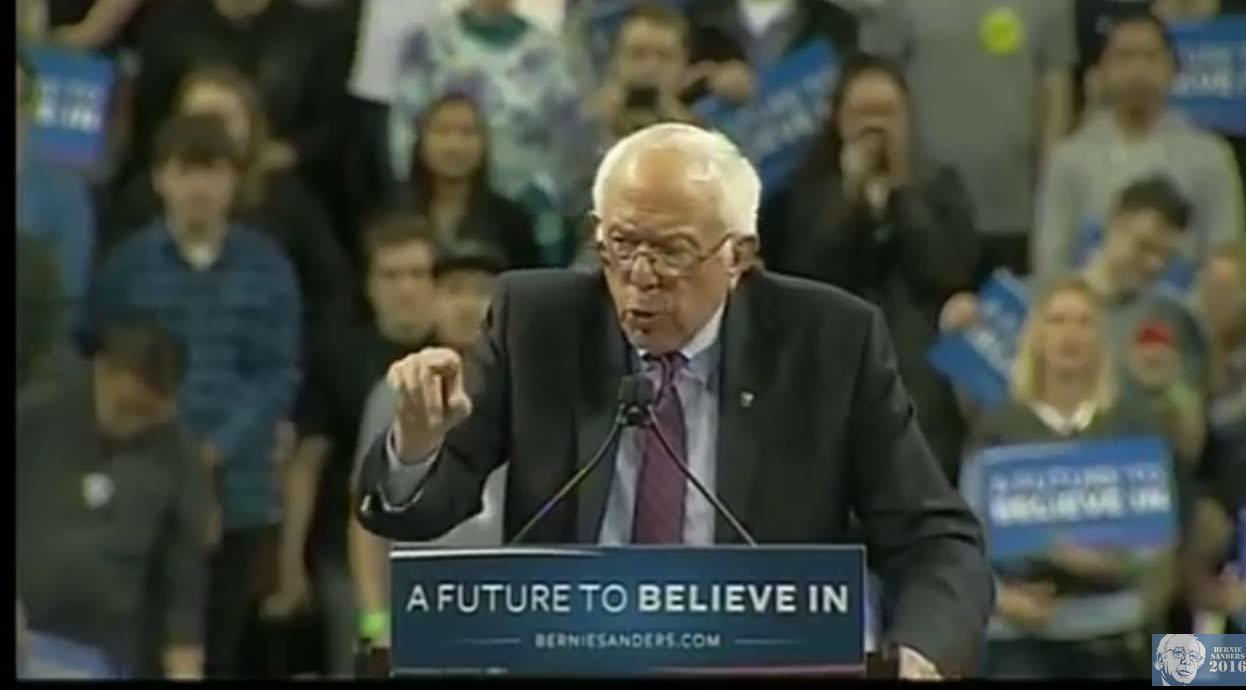 LIVE Stream: Bernie Sanders Rally in Seattle, WA (3-20-16)