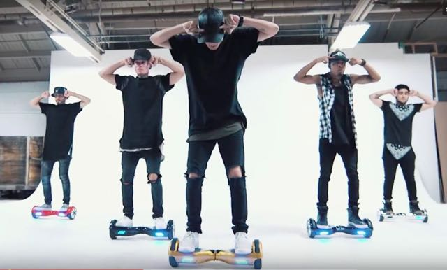 Segway Dancers Cover Justin Bieber's 'What Do You Mean'