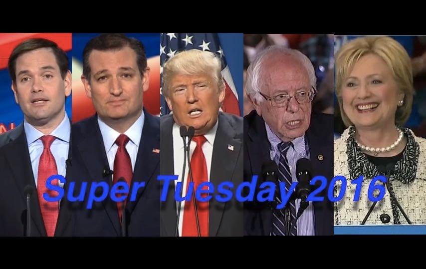 Super Tuesday 2016: Trump, Clinton Dominate, But Cruz, Rubio, Sanders Win Enough To Keep Going
