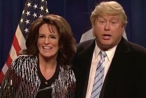 Best Thing About Sarah Palin's Trump Endorsement? Tina Fey Returns To SNL!