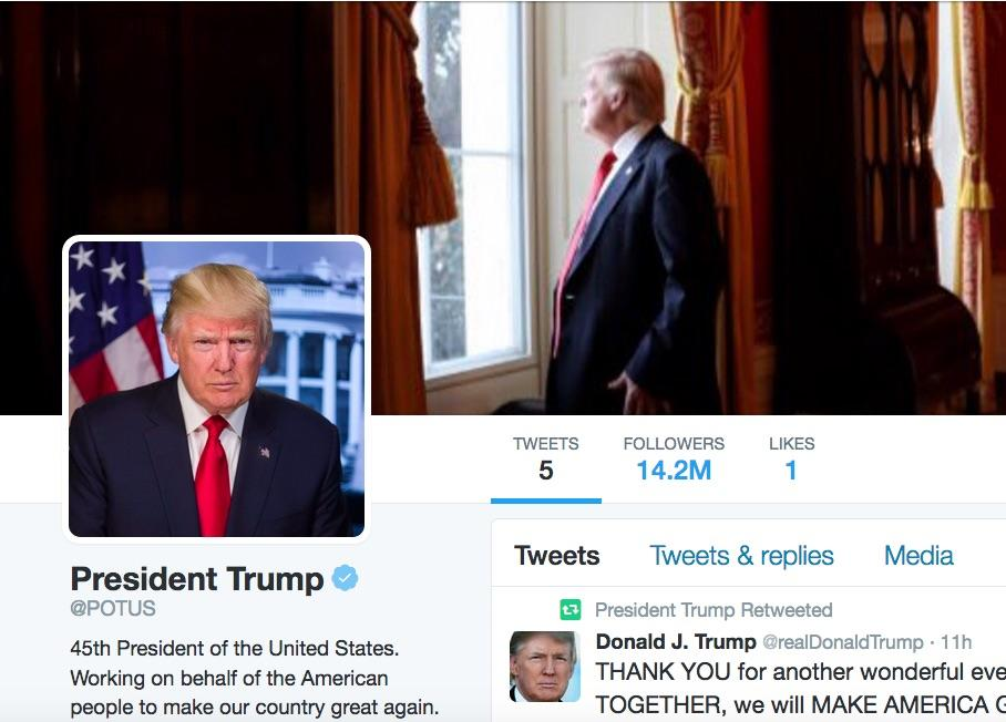 Did This Happen To You? Followers Automatically Added To @POTUS By Twitter After Donald Trump Takes Over