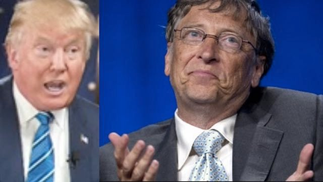 Donald Trump Wants Bill Gates To 'Close That Internet Up' For 'Certain Areas'