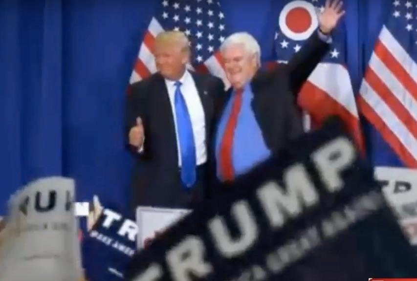 Watch Replay: Donald Trump & Newt Gingrich Appear Together At Rally In Cincinnati, Ohio, Wednesday, July 6