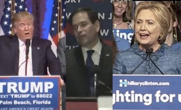 We Now Know: Trump Wins 4 Of 5, Losing Ohio To Kasich, Rubio Quits! Clinton Sweep Of All 5