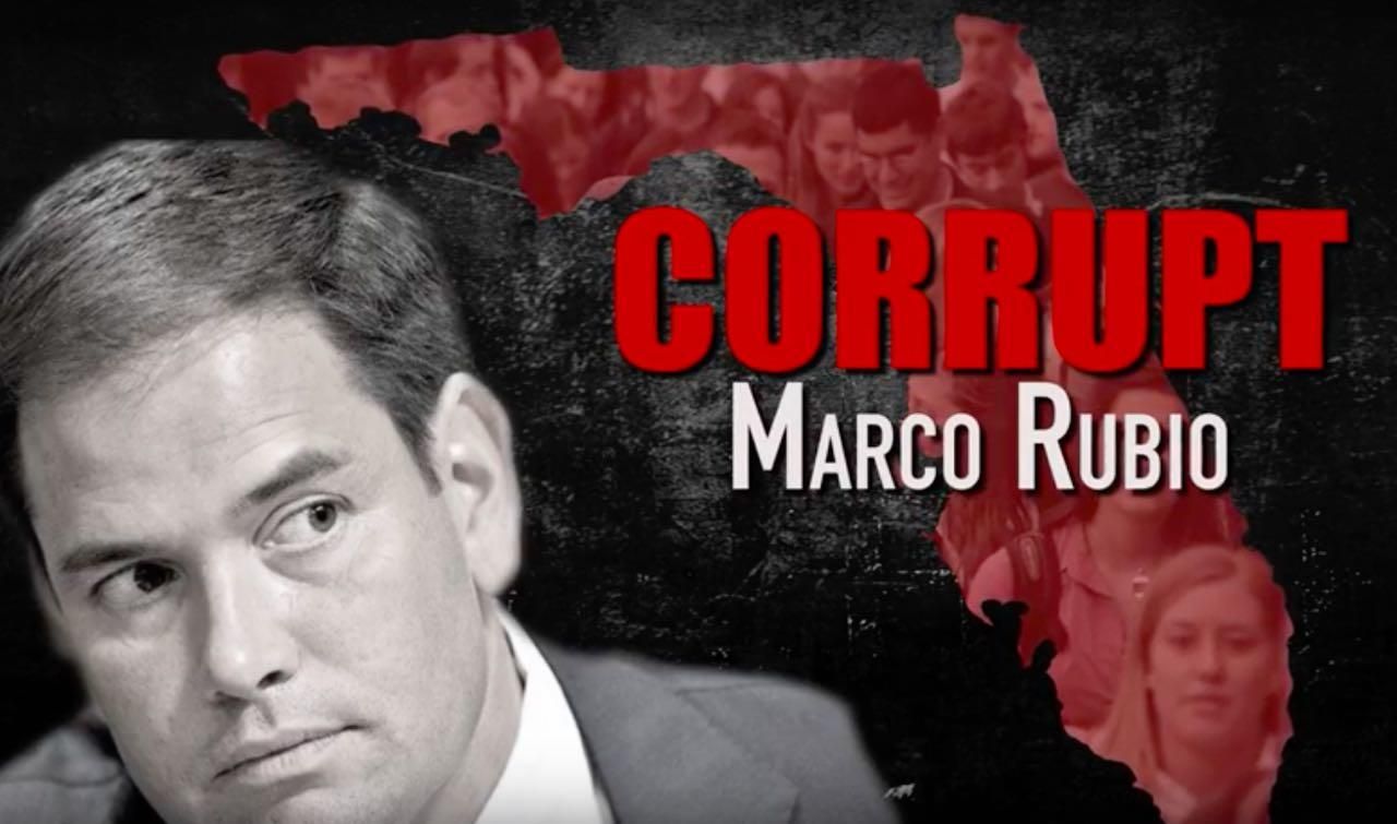 Donald Trump Unleashes Attack Ad On 'Corrupt' Marco Rubio