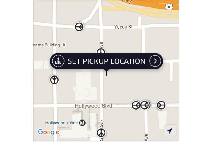 Uber Replaces Cars With Peace Symbol On App After 'This Week's Terrible Gun Violence'