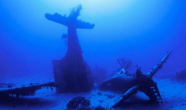 Underwater Graveyard Of WW2 Planes Revealed In Dramatic Images