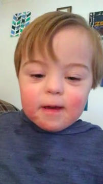 Viral Video: Two-Year-Old Boy with Down Syndrome Excitedly Recites Alphabet